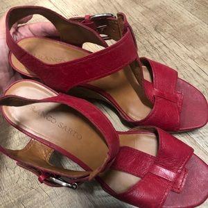 Franco Sarto wedge heels size 9